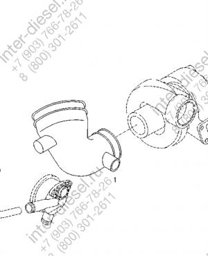 Патрубок (Manifold) 04254335