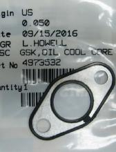 Прокладка маслоохладителя 4973532