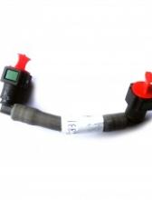 Трубка подачи топлива от фильтра к ТНВД V=4.5, V=6.7 Euro-4 короткая 4983831