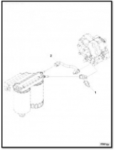 Трубка подачи топлива от фильтра к ТНВД V=4.5, V=6.7 Euro-4 длинная 4983832