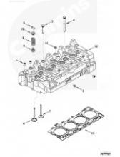 Болт крепления головки блока цилиндров OE 3920780