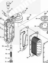 Клапан корпуса маслоохладителя ISLe 3934410