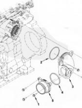Патрубок воздушный впускного коллектора 5266971