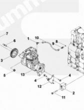 Воздушный компрессор C8.3 3970805